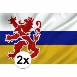 2x provincie limburg vlaggen 1 bij 1 5 mtr