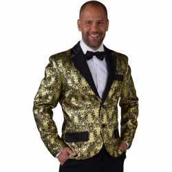 Barok colbert goud feest heren