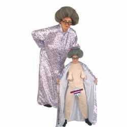 Bejaarde vrouw kleding