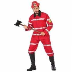 Brandweerman verkleed kleding feest heren