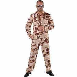 Camouflage kleding 3-delig feest heren