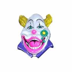 Carnavals clown feestdecoratie wit