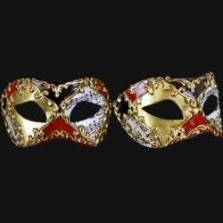 Carnavals de venice oogmasker handgemaakt