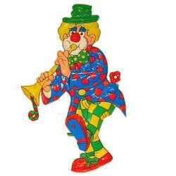 Carnavals feestdecoratie clown