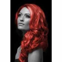 Carnavals haarverf rood