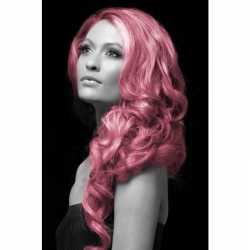 Carnavals haarverf roze