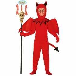 Carnavals kleding feest kinderen duiveltje