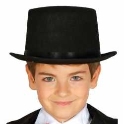 Carnavals luxe hoge hoed zwart 10099482