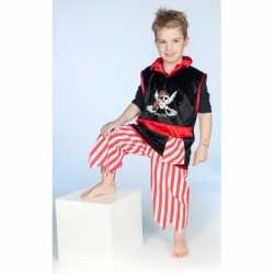 Carnavals piraten kleding feest jongens
