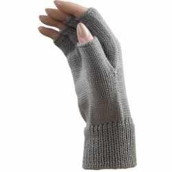 Carnavals polsjes/handschoenen licht grijs vingerloos feest volwassen