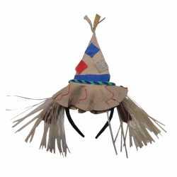 Carnavals verkleed hoedje vogelverschrikker