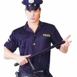 Carnavals wapenstok politie agent