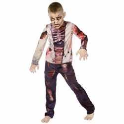 Carnavals zombie kleding feest kinderen
