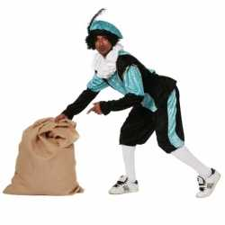 Carnavalskleding blauwe zwarte pieten kleding budget