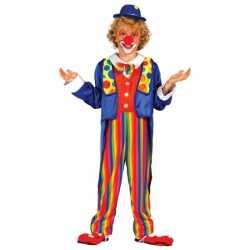 Carnavalskleding clown kleding feest kinderen