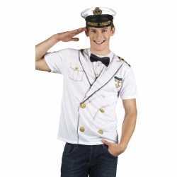 Carnavalskleding kapitein heren shirt
