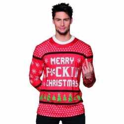 Carnavalskleding kerst heren shirt 10075234