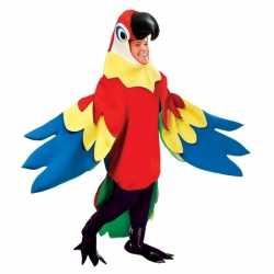 Carnavalskleding papegaai