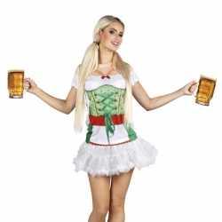 Carnavalskleding tiroler dames shirt