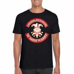 Carnavalsvereniging de harde plasser brabant heren t shirt zwart