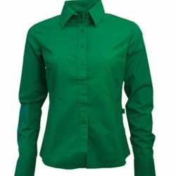 Casual groen overhemd feest dames