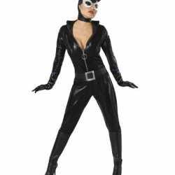 Catwoman jumpsuit masker