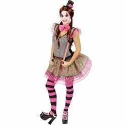 Clown carnavalskleding feest dames