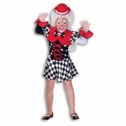 Clown kleding feest meisjes