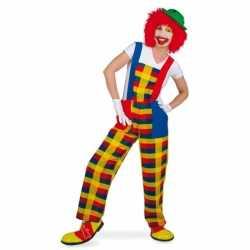 Clown pebbi verkleedkleding feest volwassenen