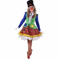 Clown Pipo jurkje feest dames