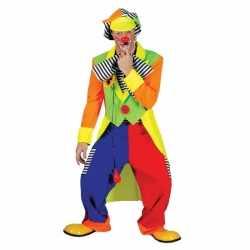Clown verkleed kleding feest mannen