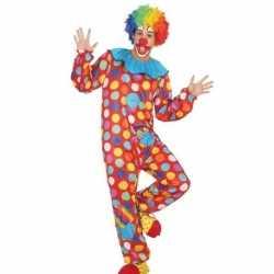 Clown verkleed pak/kleding feest heren