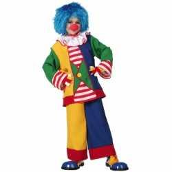 Clown verkleedkleding feest kinderen
