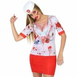 Compleet horror zuster kleding feest dames