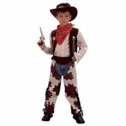 Cowboy carnavalskleding feest kinderen