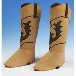 Cowboy schoenhoezen feest volwassenen