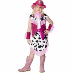 Cowgirl jurkje feest meiden