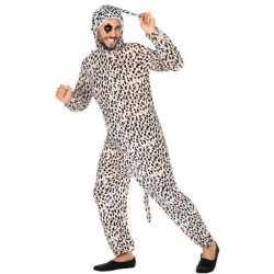 Dierenpak verkleed kleding dalmatier hond feest volwassenen