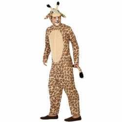 Dierenpak verkleed kleding giraffe feest volwassenen