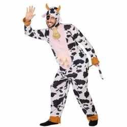 Dierenpak verkleed kleding koe feest volwassenen