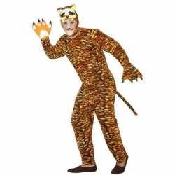 Dierenpak verkleed kleding tijger feest volwassenen