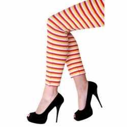 Dorus legging gekleurde strepen