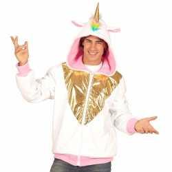 Eenhoorn hoodie feest heren