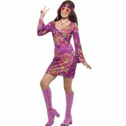 Feest hippie verkleedkleding feest dames