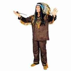 Feest indianen verkleedkleding feest heren