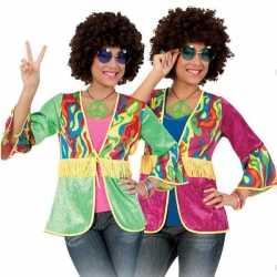 Franje vestje hippie feest dames
