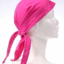 Fuchsia roze bandana
