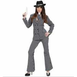 Gangster kleding feest dames