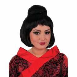 Geisha pruik knot