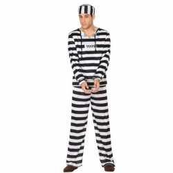 Gevangene/boef clyde verkleed kleding feest heren